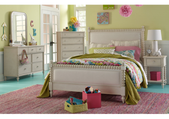 grace upholstered twin bed