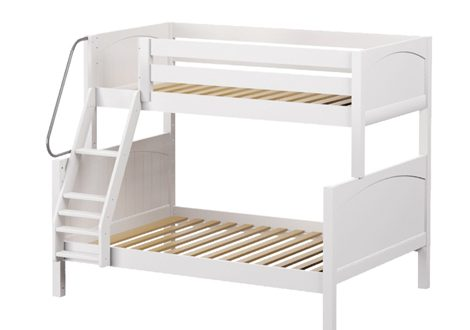 Maxtrix Medium Twin over Full Bunk with Angle Ladder