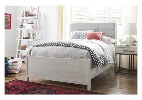 Modern Spirit Complete Upholstered Queen Bed