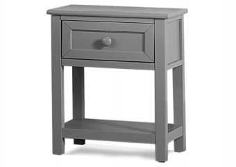 NIGHTSTAND IN GRAY