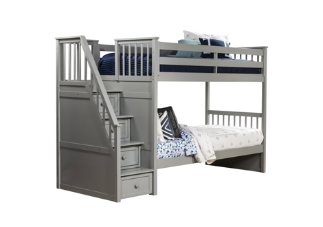 Schoolhouse 4.0 Twin/Twin Stair Bunk