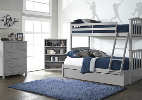Schoolhouse 4 0 Twin Over Full Sidney Bunk Bed