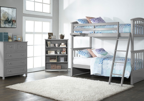 Schoolhouse 4 0 Twin Over Twin Sidney Bunk Bed
