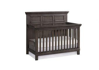 Riverton Crib in Shadow Grey