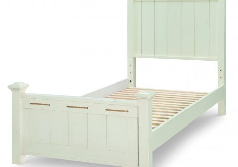 Lake House Twin Low Post Bed