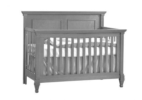 Belmont Crib in Elephant Gray