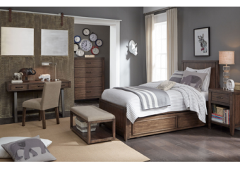 sawyers mill twin panel bed