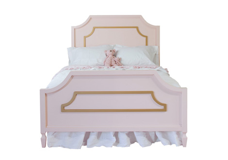 Beverly Full Bed with Molding