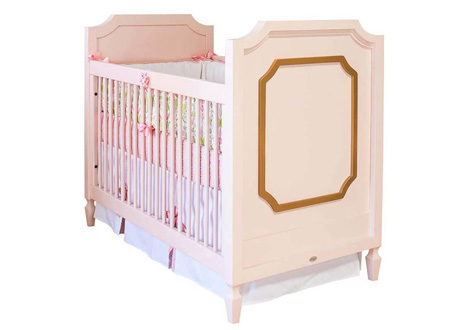 Beverly Crib with Molding