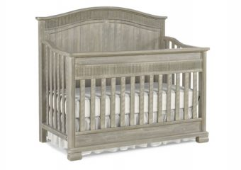 Florenza Crib in Dove Grey