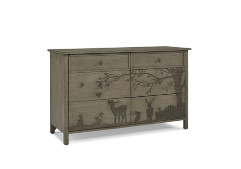 Forest Animals Double Dresser