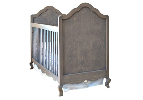 Hilary Crib with Smooth Panels