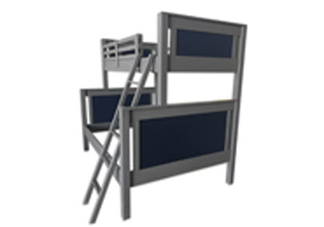Ricki Twin Over Full Bunk Bed
