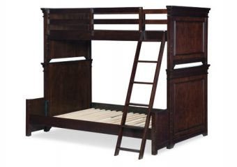 Canterbury Warm Cherry Twin full BUnk Bed