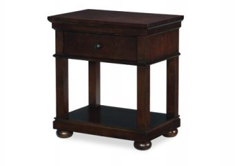 Caterbury Warm Cherry Silo Nightstand