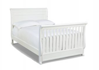 Madison Crib Converted to Full Size Bed