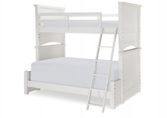 Summerset Twin Over Full Bunk Bed Ivory