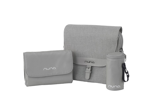 Diaper Bag in Frost by NUNA