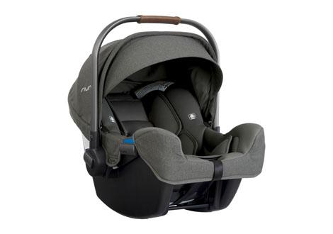 Pipa Infant Car Seat + Base in Granite