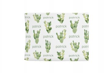 Changing Pad Cover - Cactus
