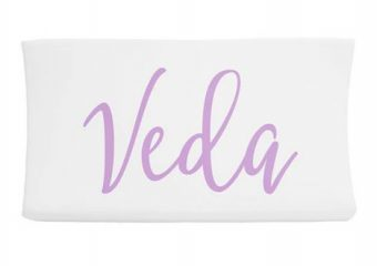 Changing Pad Cover - Centered Name 1