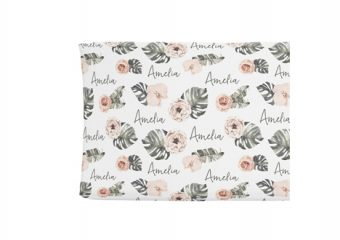 Changing Pad Cover - Tropical Boho Floral
