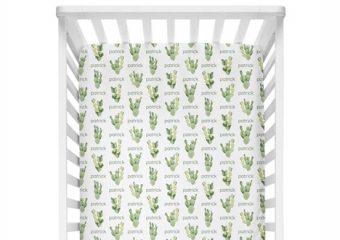 Crib Sheet - Cactus