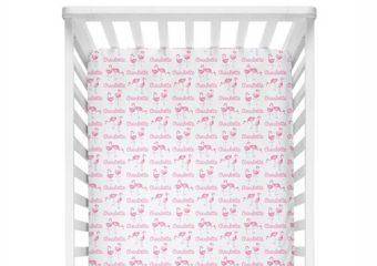 Crib Sheet - Flamingo