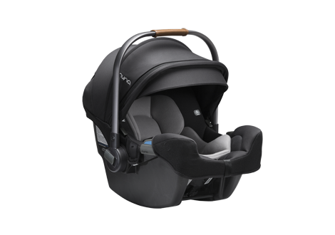 Pipa rx Infant Carseat + relx Base in Caviar