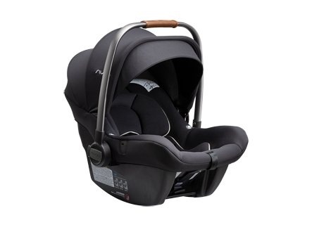 Pipa lite r Infant Carseat + relx Base in Caviar