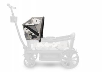 Custom Retractable Canopy Ice Camo 6