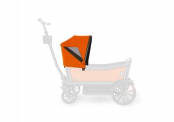 Custom Retractable Canopy Sienna Orange 2