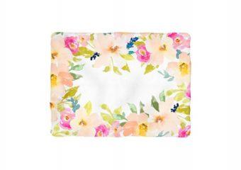 Garden Floral Milestone Blanket - Non-Personalized
