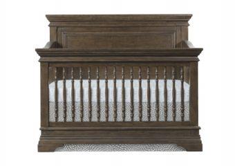 Olivia Rosewood Flat Top Convertible Crib_New Bedding_Silo2