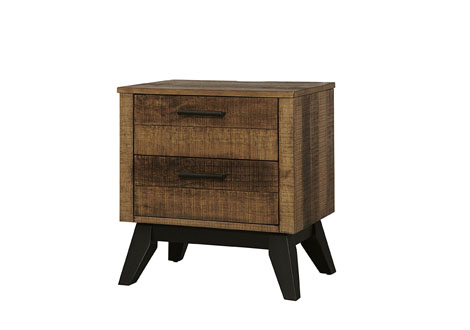 Urban Rustic 2 Drawer Nightstand