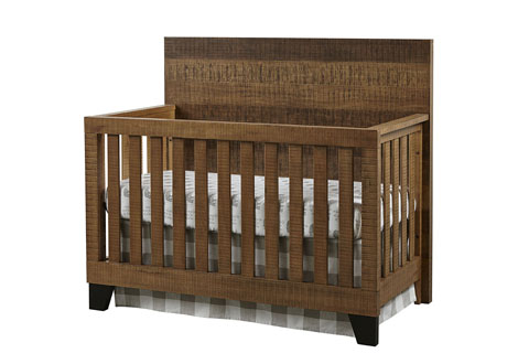 Urban Rustic Convertible Crib