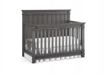 Bocca Crib in Marina Grey