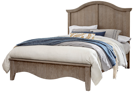 Casual Retreat Queen Arch Bed