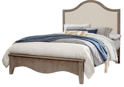 Casual Retreat Full Upholstered Bed
