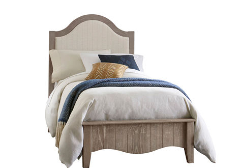 Casual Retreat Twin Upholstered Bed
