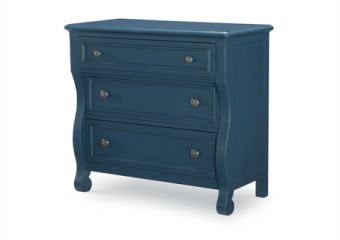 LAKE HOUSE BLUE ACCENT CHEST