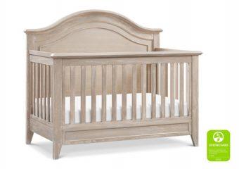 Beckett Rustic Curve Top Crib Silo