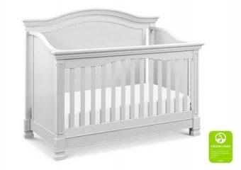 Louis Crib in Cloud Grey 3