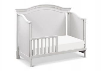 Louis Crib in Cloud Grey 5
