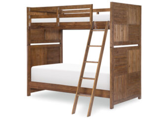 SUMMER CAMP TWIN BUNK IN BROWN SILO